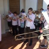 Pupitre de trompettes
